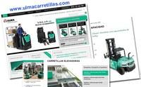 Soluciones Logísticas Integrales a un CLICK en www.ulmacarretillas.com