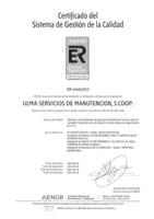 ULMA Carretillas Elevadoras renueva con exito su certificación en la ISO 9001