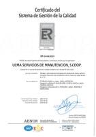 Nuevamente superada con éxito la auditoría externa ISO 9001:2008 para 2016