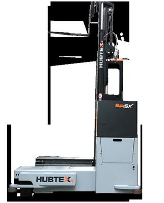 Carretilla Eléctrica Multidireccional de Carga Lateral Easy de Hubtex