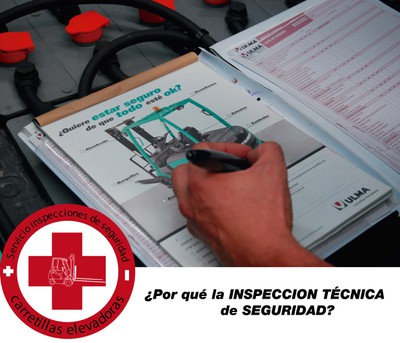 Inspeccion tecnica de seguridad carretillas