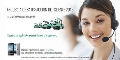 Encuesta clientes 2016 ULMA