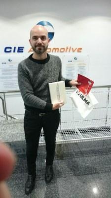 Cliente de ULMA Carretillas premio